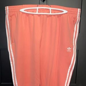 Women's Adidas originals superstar track pants